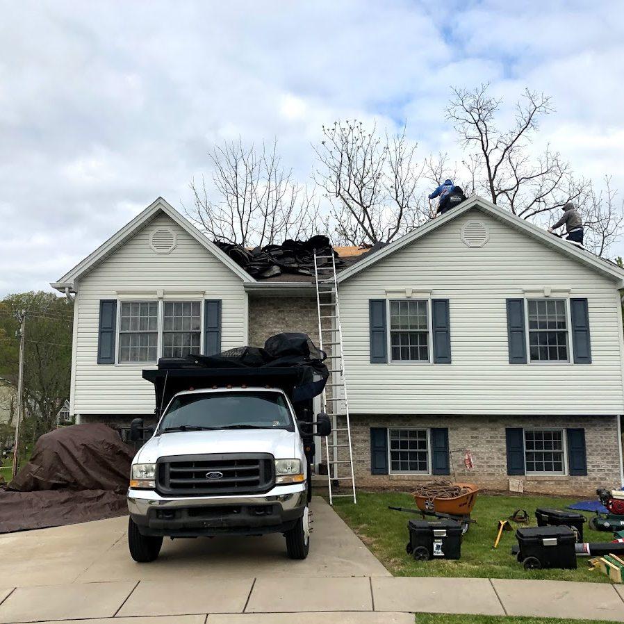 Roof damage repair in Hanover's littlestown PA 17340